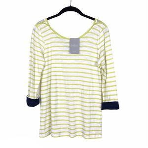 NWT Anthropologie Saturday Sunday Striped Top S